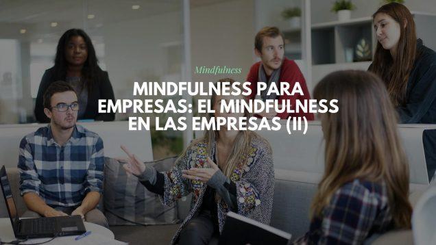 Mindfulness en las empresas